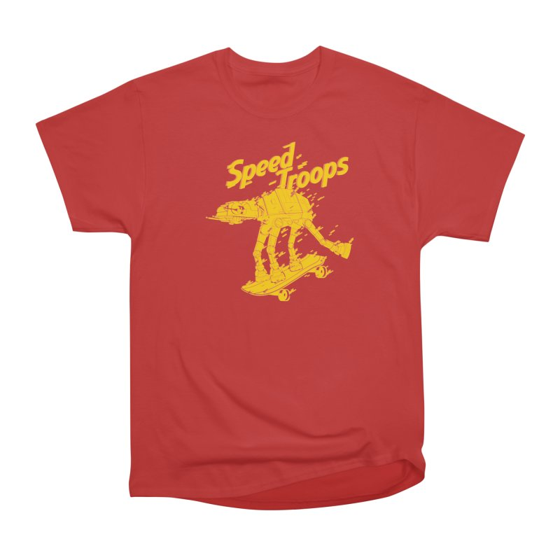 Speed Troops 1 Women's Heavyweight Unisex T-Shirt by torquatto's Artist Shop