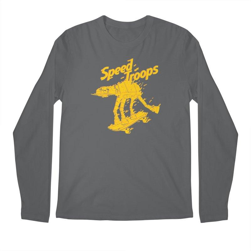 Speed Troops 1 Men's Longsleeve T-Shirt by torquatto's Artist Shop