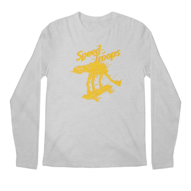 Speed Troops 1 Men's Longsleeve T-Shirt by torquatto's Artist Shop
