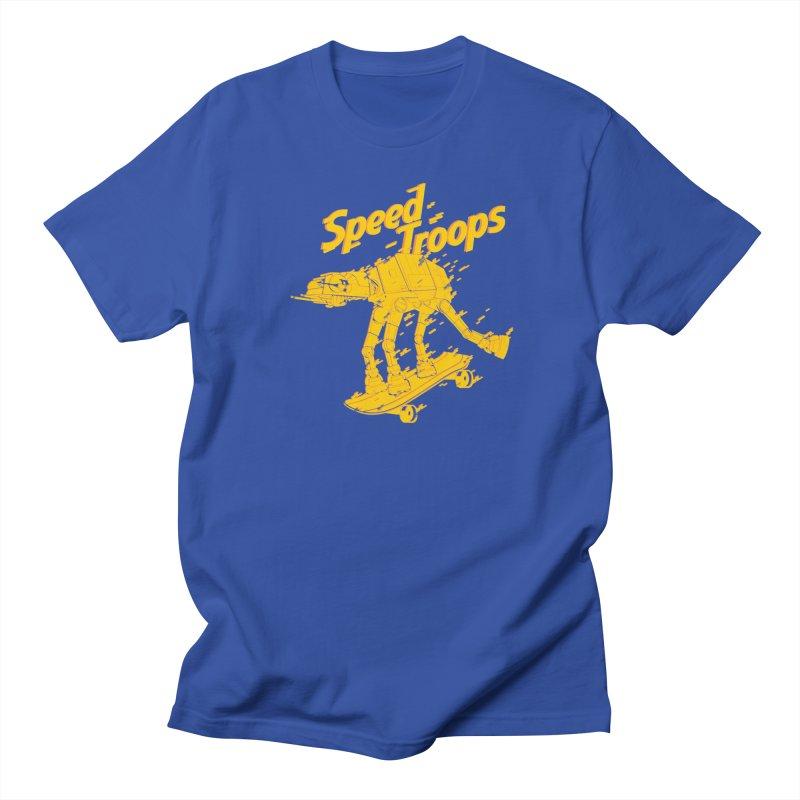 Speed Troops 1 Women's Unisex T-Shirt by torquatto's Artist Shop