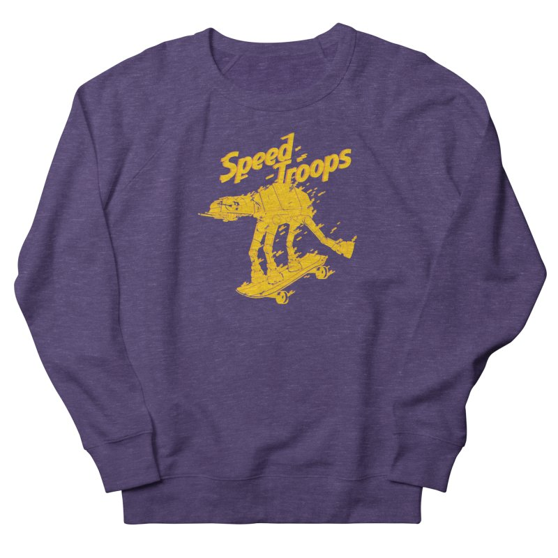 Speed Troops 1 Women's French Terry Sweatshirt by torquatto's Artist Shop