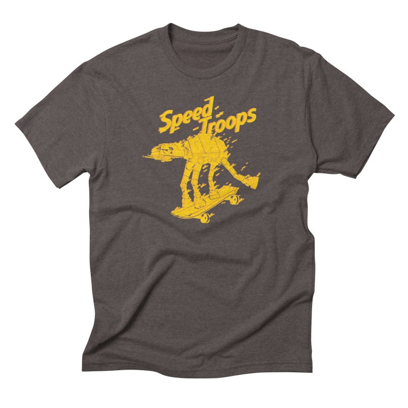 Speed Troops 1 Men's Triblend T-shirt by torquatto's Artist Shop
