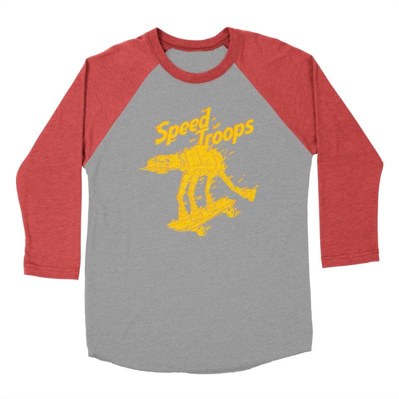 Speed Troops 1 Women's Baseball Triblend Longsleeve T-Shirt by torquatto's Artist Shop