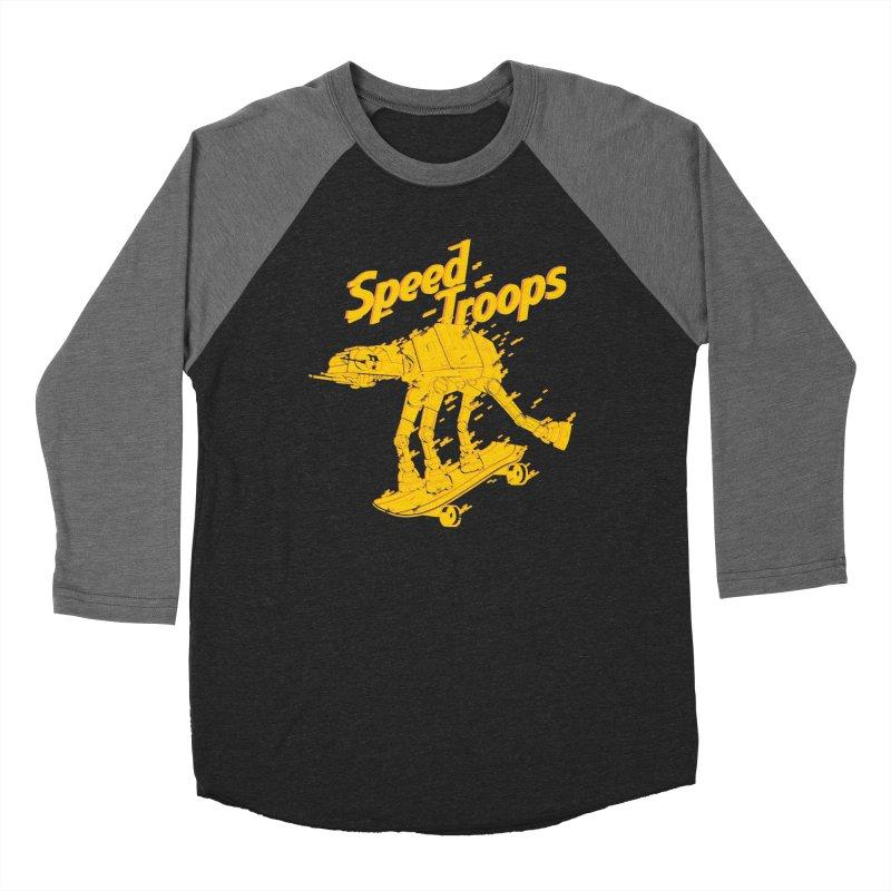Speed Troops 1 Men's Baseball Triblend T-Shirt by torquatto's Artist Shop