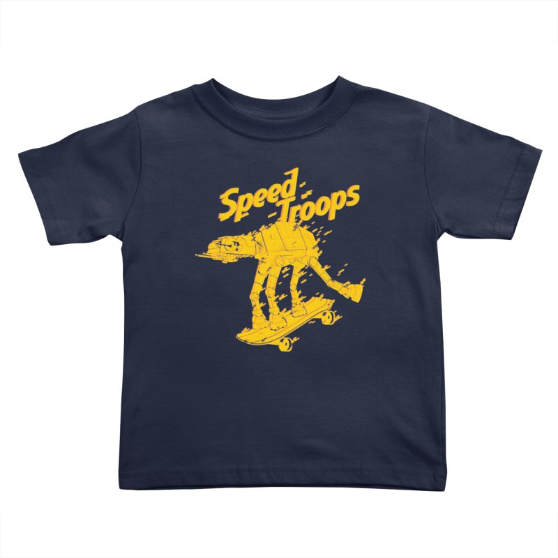 Speed Troops 1 Kids Toddler T-Shirt by torquatto's Artist Shop