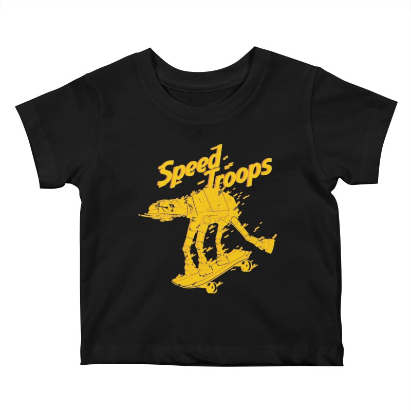 Speed Troops 1 Kids Baby T-Shirt by torquatto's Artist Shop
