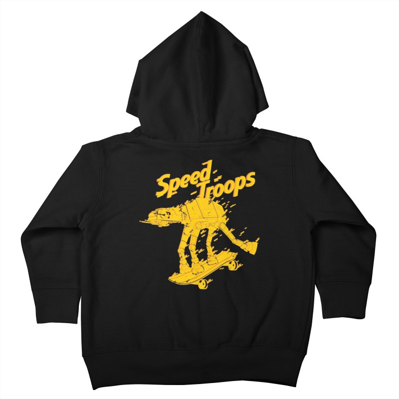 Speed Troops 1 Kids Toddler Zip-Up Hoody by torquatto's Artist Shop