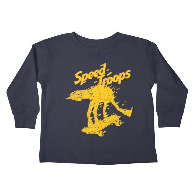 Speed Troops 1 Kids Toddler Longsleeve T-Shirt by torquatto's Artist Shop