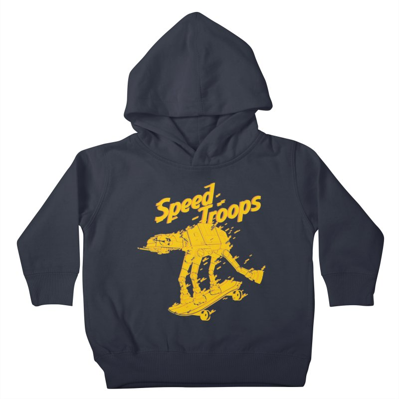 Speed Troops 1 Kids Toddler Pullover Hoody by torquatto's Artist Shop