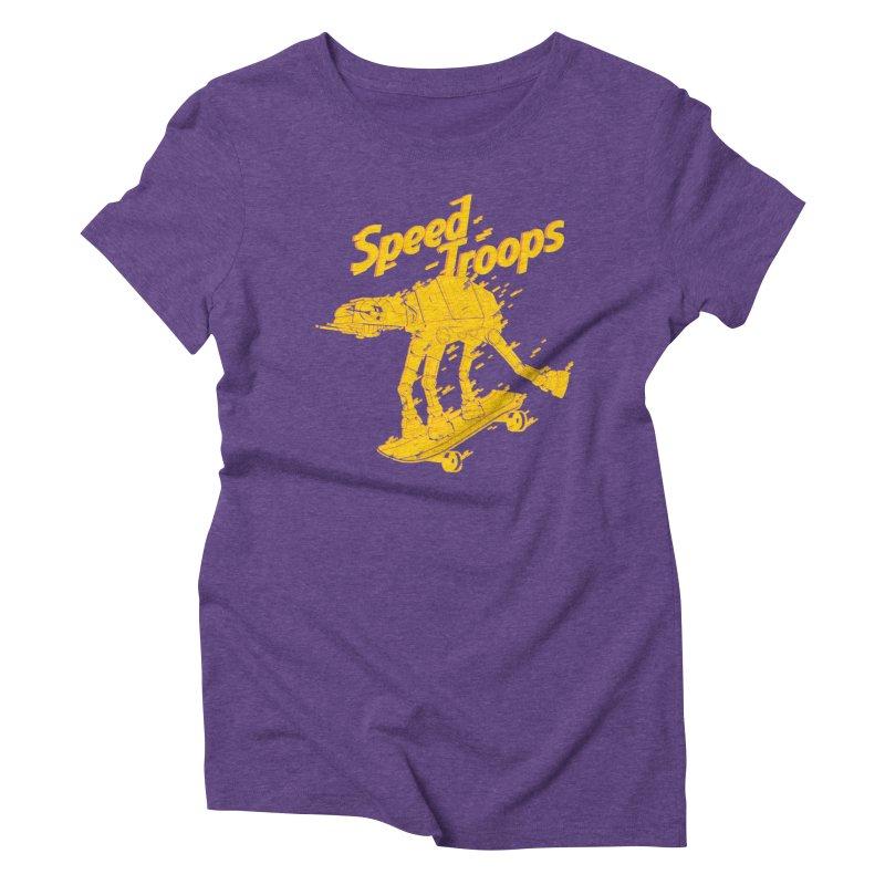 Speed Troops 1 Women's Triblend T-shirt by torquatto's Artist Shop