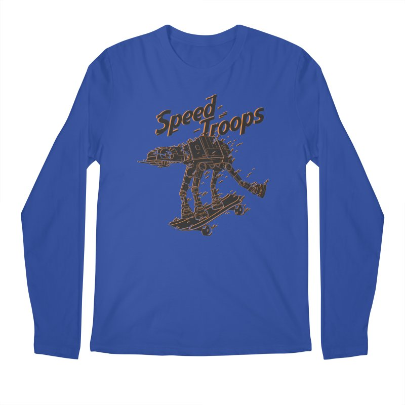 Speed Troops 2 Men's Longsleeve T-Shirt by torquatto's Artist Shop