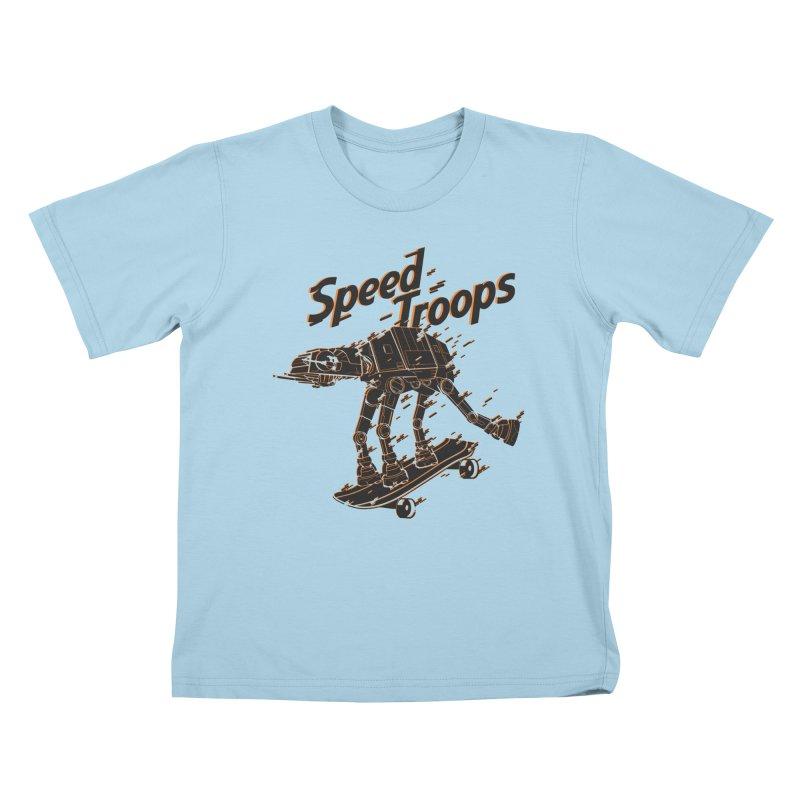 Speed Troops 2 Kids T-Shirt by torquatto's Artist Shop