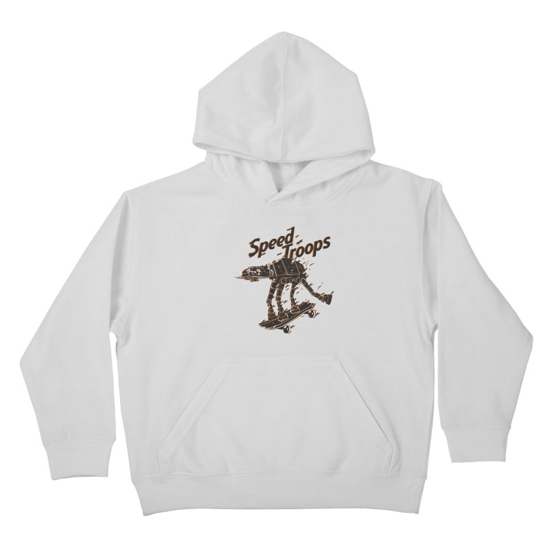 Speed Troops 2 Kids Pullover Hoody by torquatto's Artist Shop
