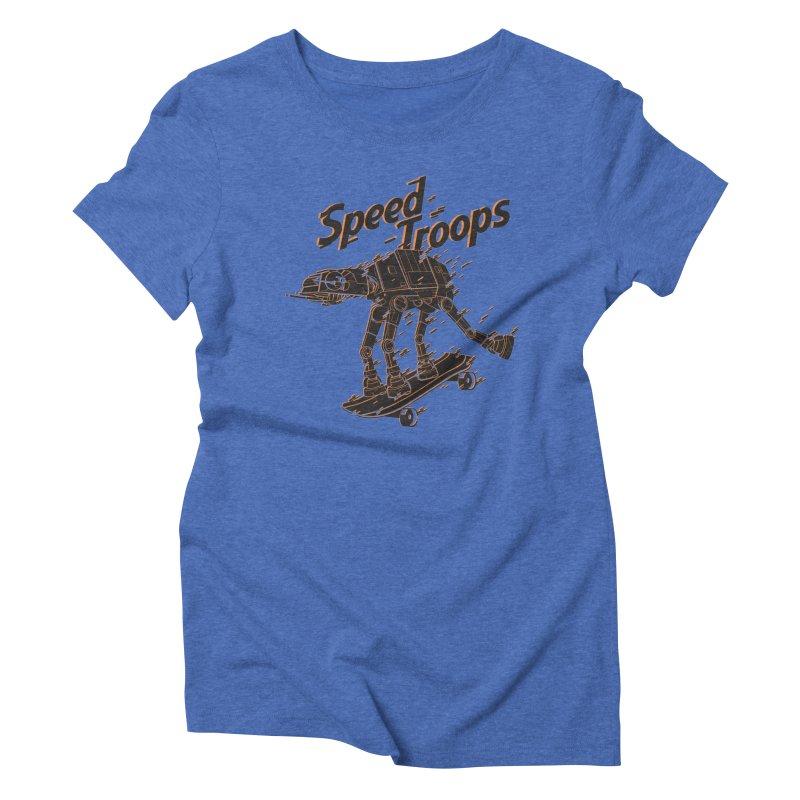 Speed Troops 2 Women's Triblend T-Shirt by torquatto's Artist Shop
