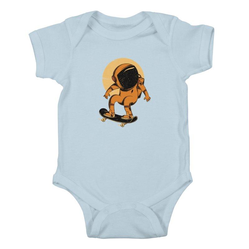 Sun trip Kids Baby Bodysuit by torquatto's Artist Shop