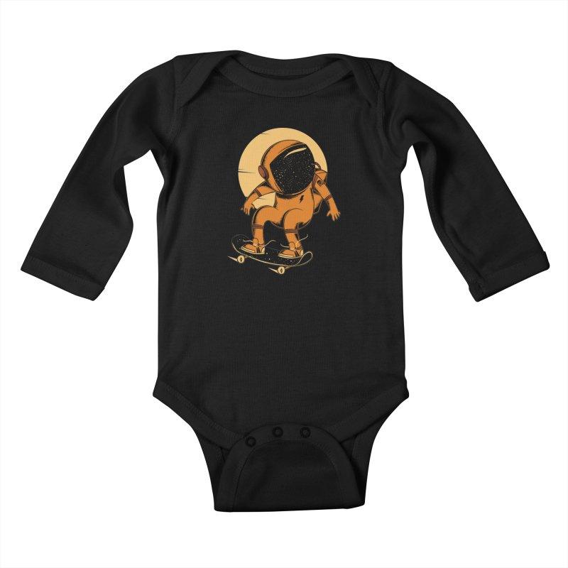 Sun trip Kids Baby Longsleeve Bodysuit by torquatto's Artist Shop