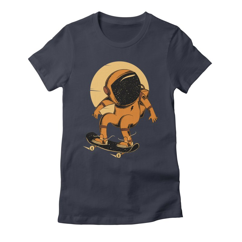 Sun trip Women's Fitted T-Shirt by torquatto's Artist Shop