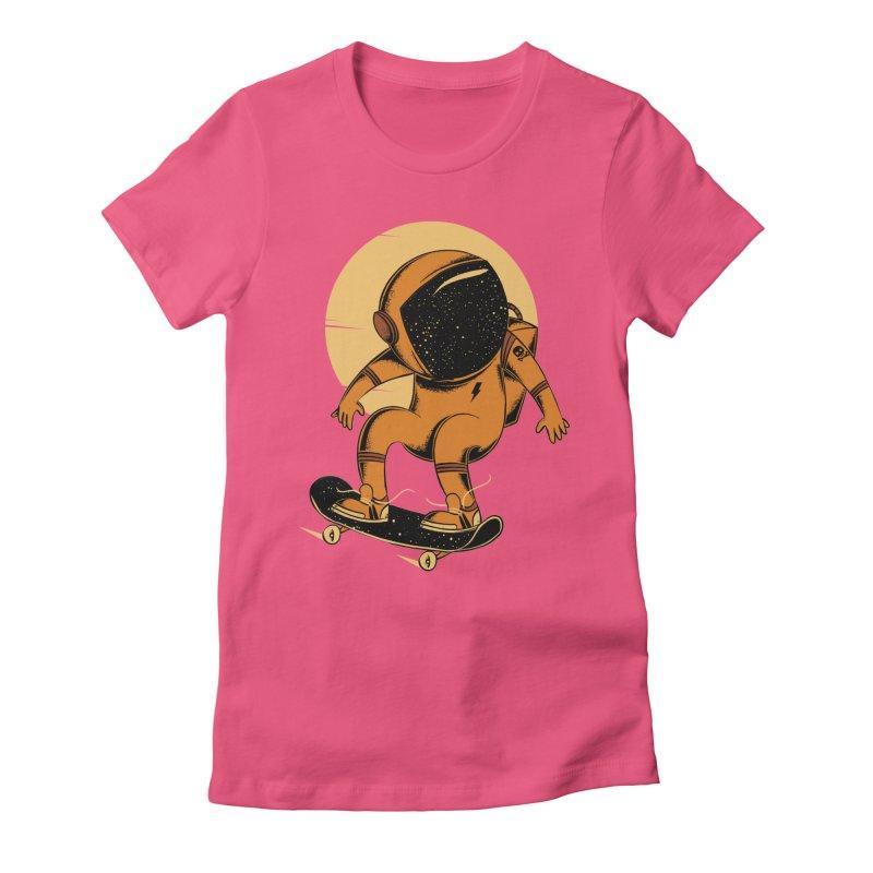 Sun trip Women's Fitted T-Shirt by torquatto's Artist Shop