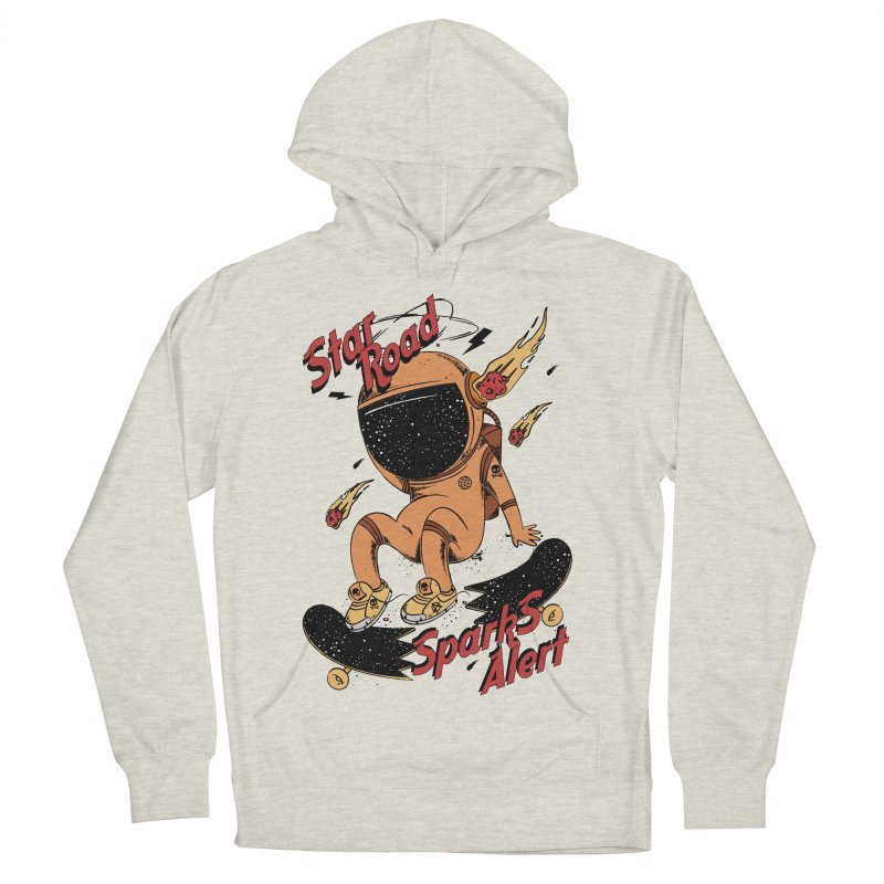 Spark Alert Men's French Terry Pullover Hoody by torquatto's Artist Shop