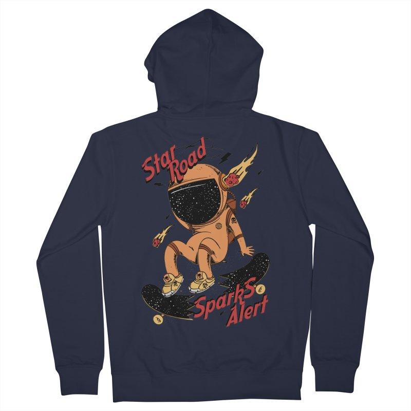 Spark Alert Men's Zip-Up Hoody by torquatto's Artist Shop