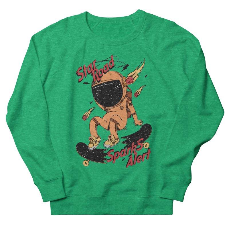 Spark Alert Women's Sweatshirt by torquatto's Artist Shop