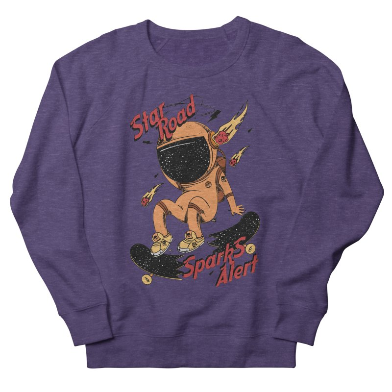 Spark Alert Women's French Terry Sweatshirt by torquatto's Artist Shop