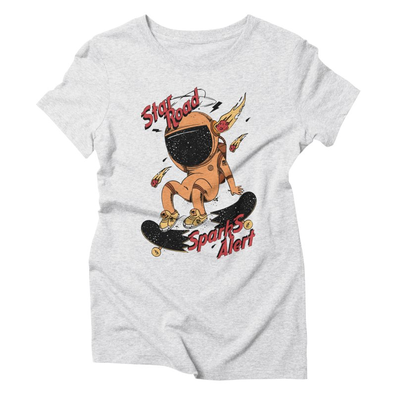 Spark Alert Women's Triblend T-shirt by torquatto's Artist Shop