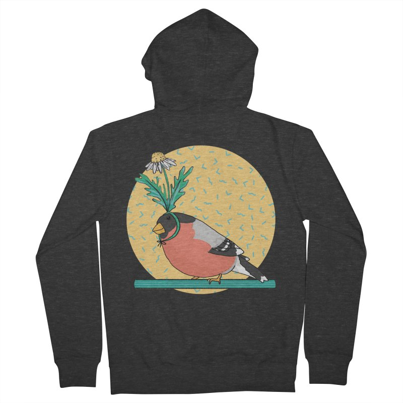 Bird of a feather Men's French Terry Zip-Up Hoody by Tostoini