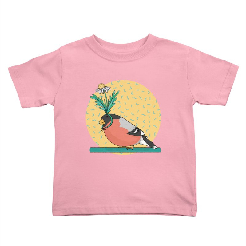 Bird of a feather Kids Toddler T-Shirt by Tostoini