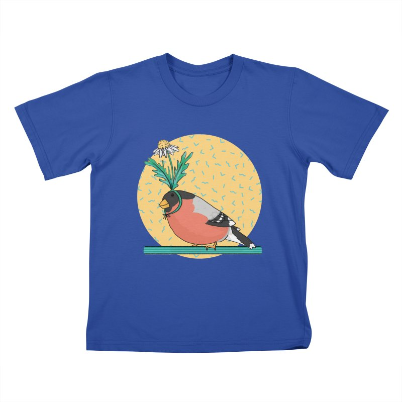 Bird of a feather Kids T-Shirt by Tostoini
