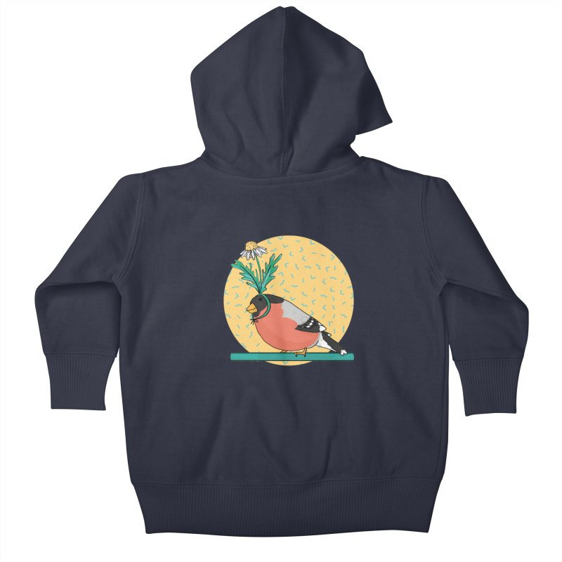 Bird of a feather Kids Baby Zip-Up Hoody by Tostoini
