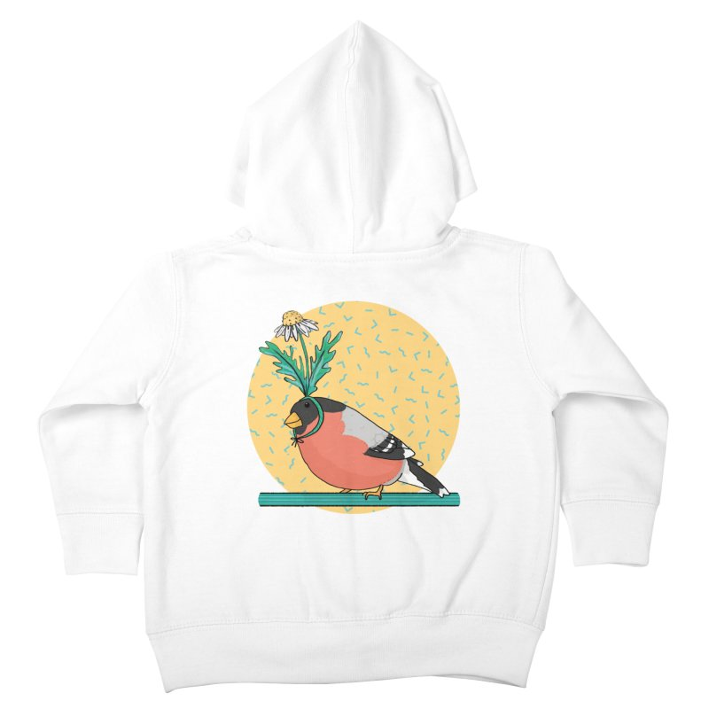 Bird of a feather Kids Toddler Zip-Up Hoody by Tostoini
