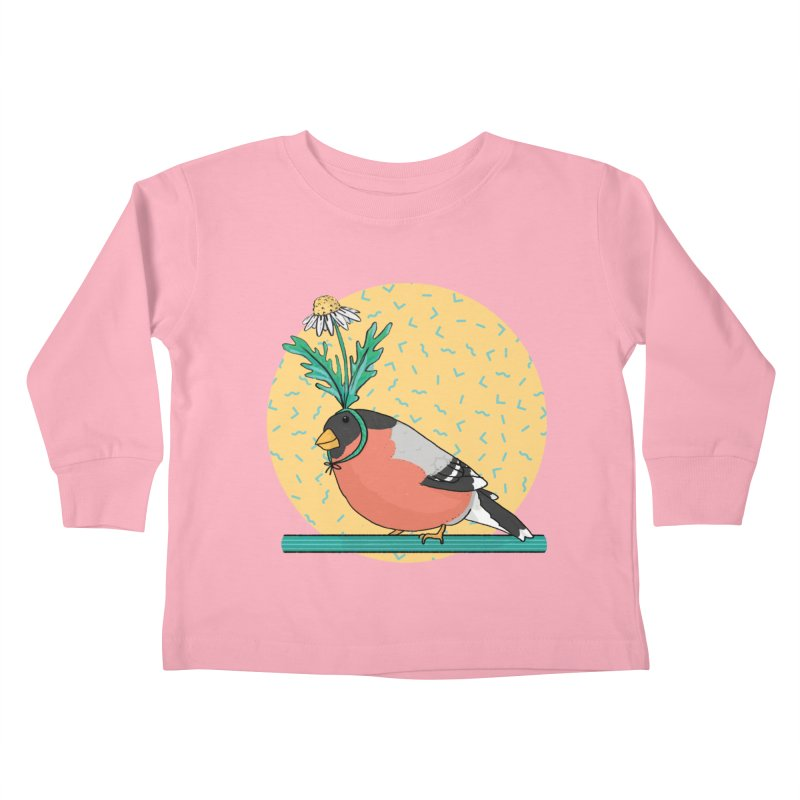 Bird of a feather Kids Toddler Longsleeve T-Shirt by Tostoini