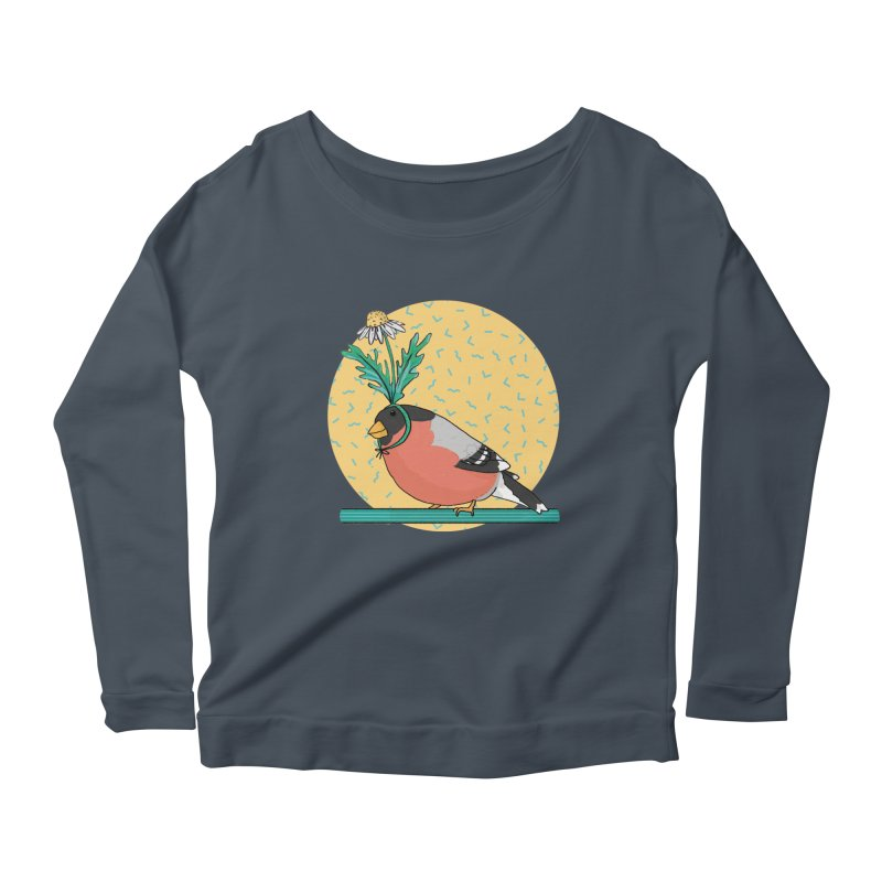 Bird of a feather Women's Scoop Neck Longsleeve T-Shirt by Tostoini