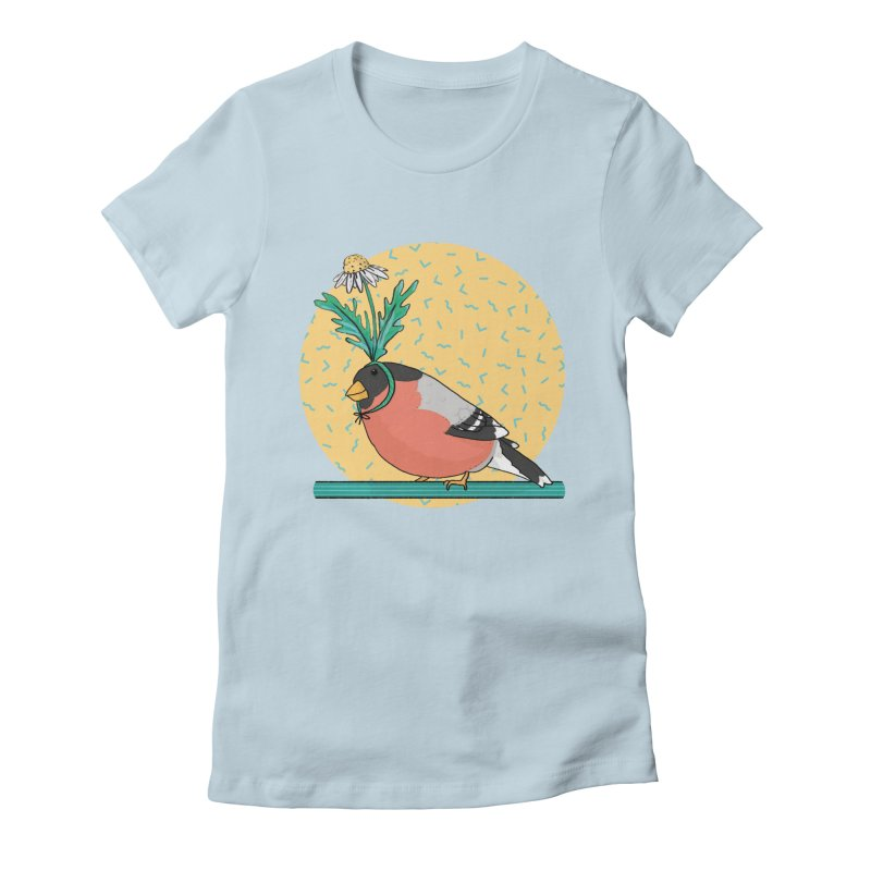 Bird of a feather Women's Fitted T-Shirt by Tostoini