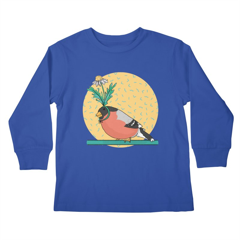 Bird of a feather Kids Longsleeve T-Shirt by Tostoini
