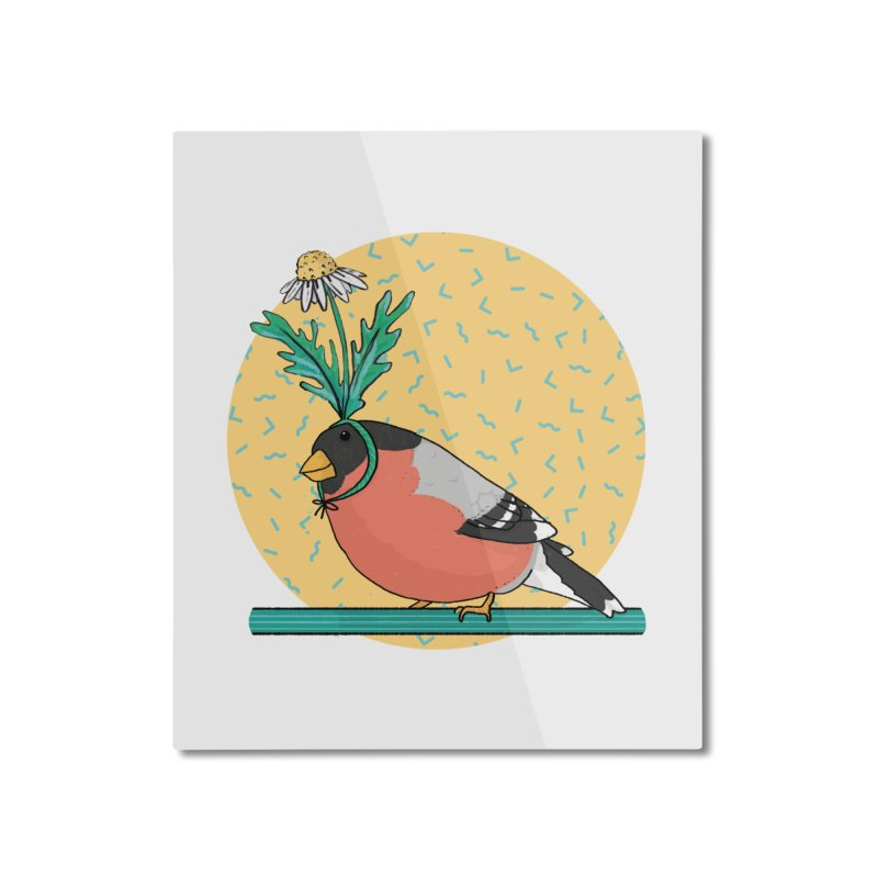 Bird of a feather Home Mounted Aluminum Print by Tostoini