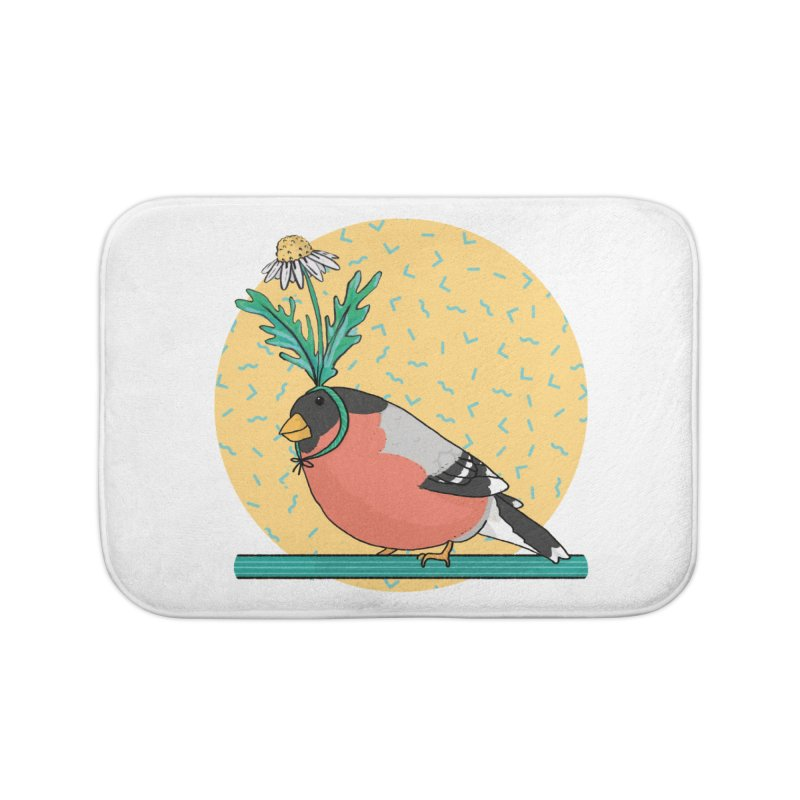Bird of a feather Home Bath Mat by Tostoini
