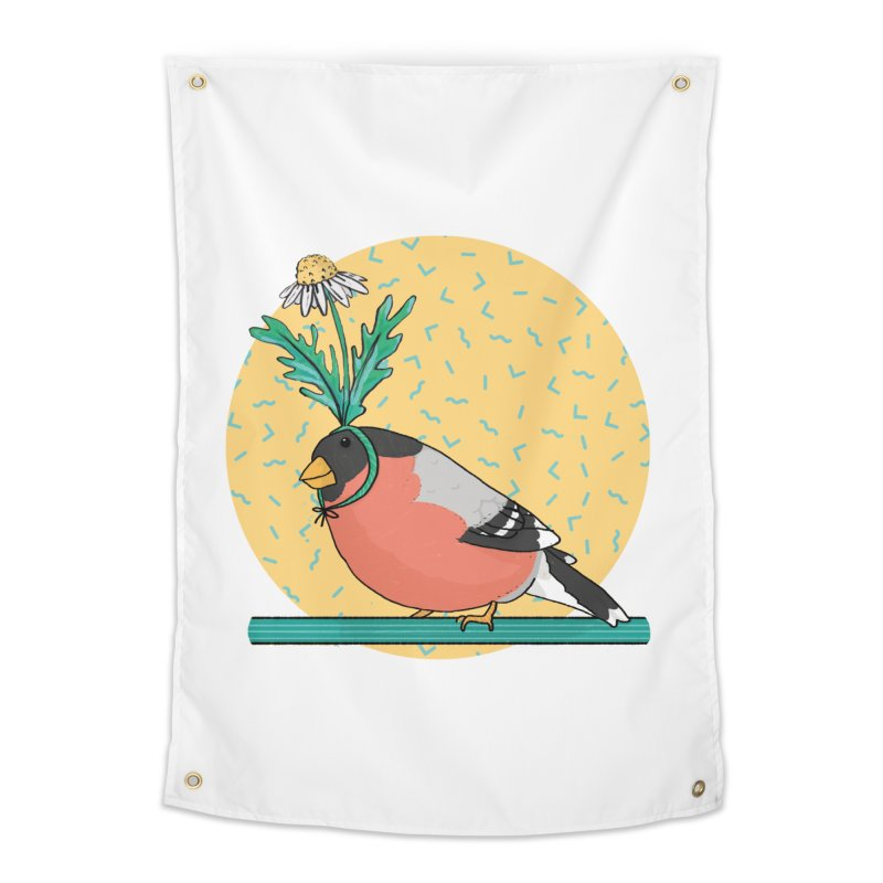 Bird of a feather Home Tapestry by Tostoini