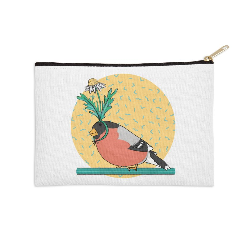 Bird of a feather Accessories Zip Pouch by Tostoini