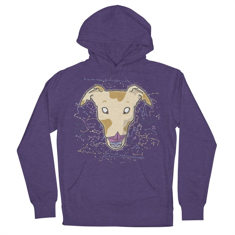 Space greyhound Women's French Terry Pullover Hoody by Tostoini