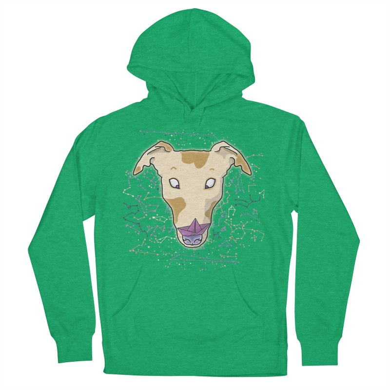 Space greyhound Men's French Terry Pullover Hoody by Tostoini