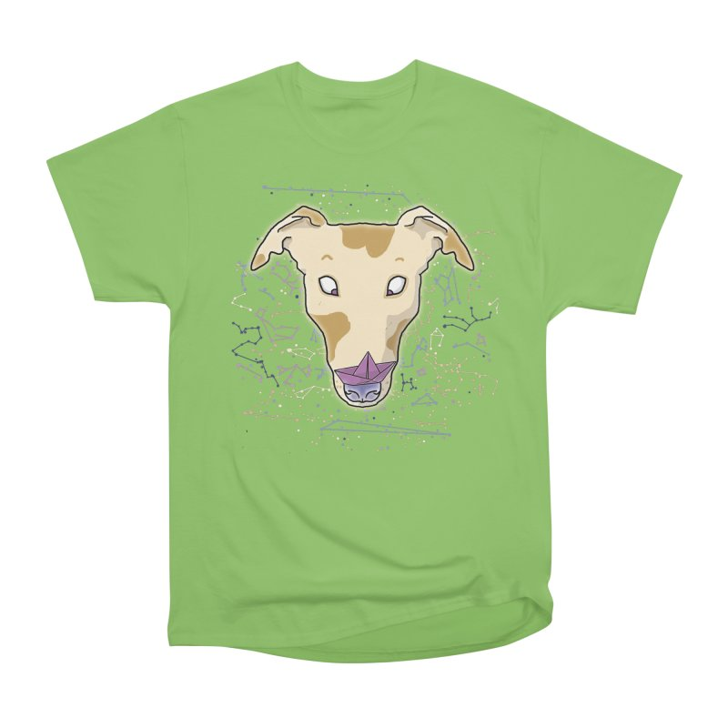 Space greyhound Men's Heavyweight T-Shirt by Tostoini