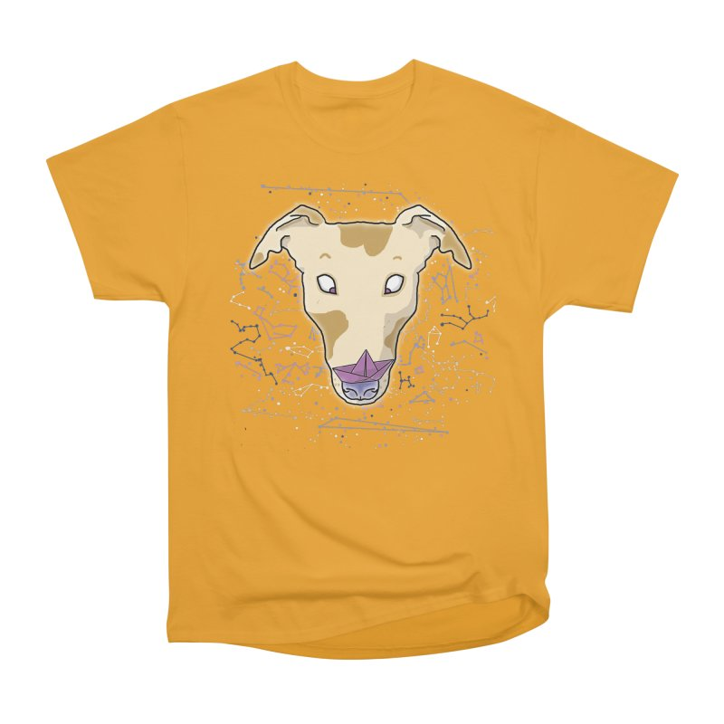 Space greyhound Women's Heavyweight Unisex T-Shirt by Tostoini