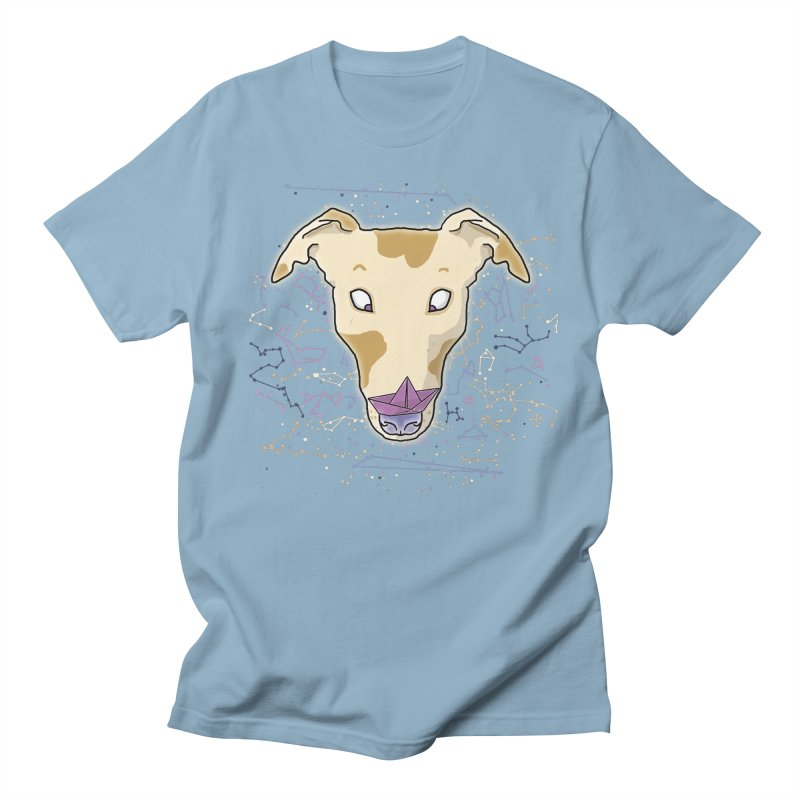 Space greyhound Women's Regular Unisex T-Shirt by Tostoini