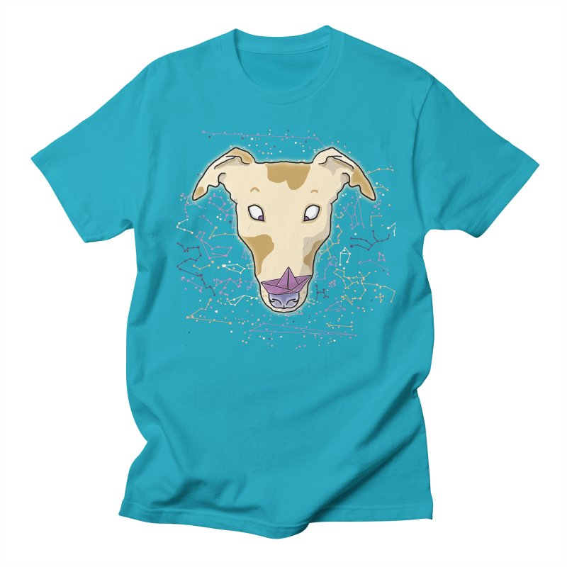 Space greyhound Men's Regular T-Shirt by Tostoini