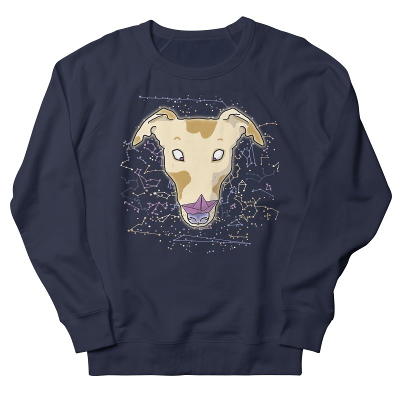 Space greyhound Women's French Terry Sweatshirt by Tostoini