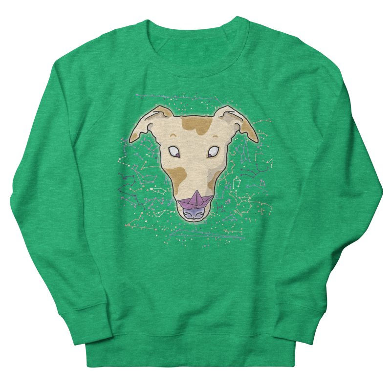 Space greyhound Men's French Terry Sweatshirt by Tostoini