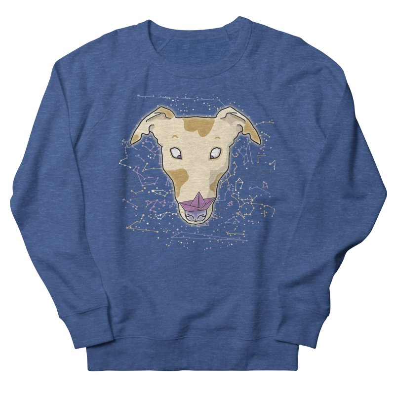 Space greyhound Men's Sweatshirt by Tostoini