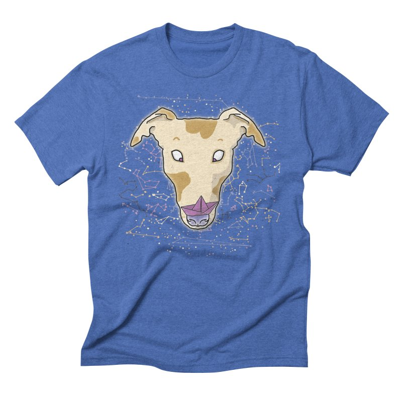 Space greyhound Men's T-Shirt by Tostoini